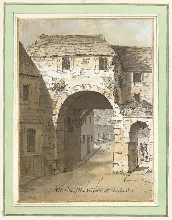 NE Side of West Gate