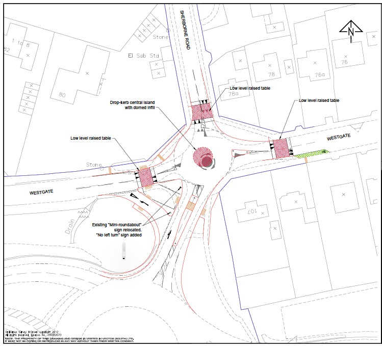 Westgate:Sherborne Road Junction improvements
