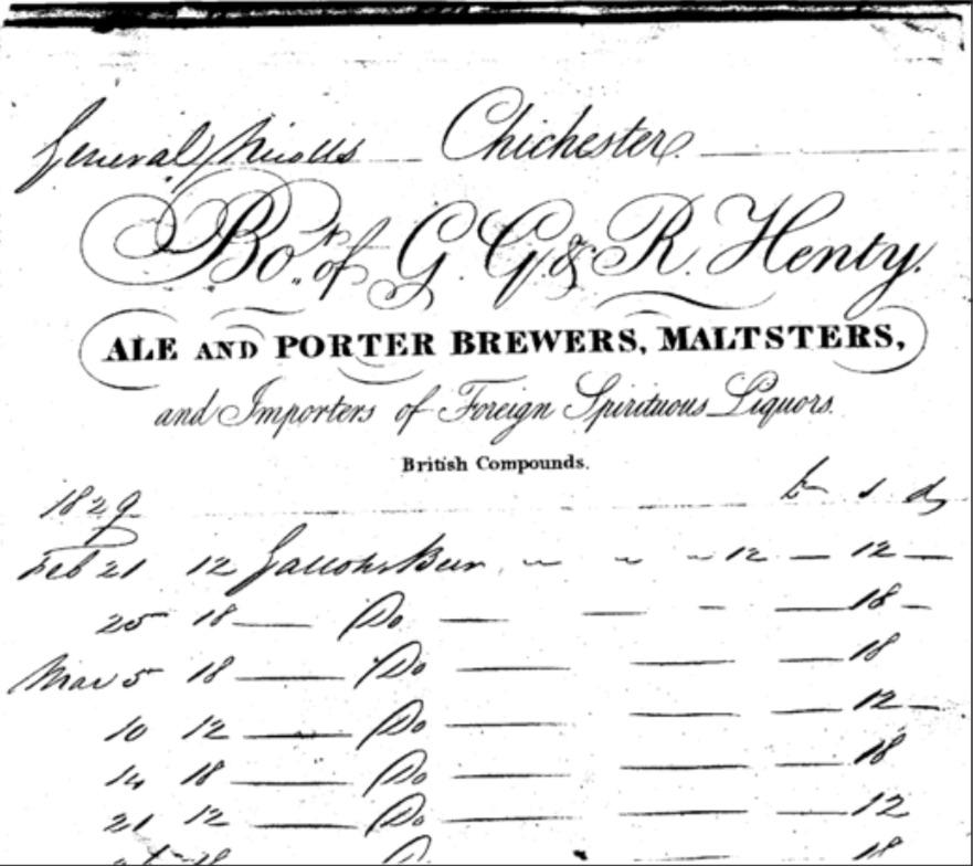 Henty Bill Head 1829