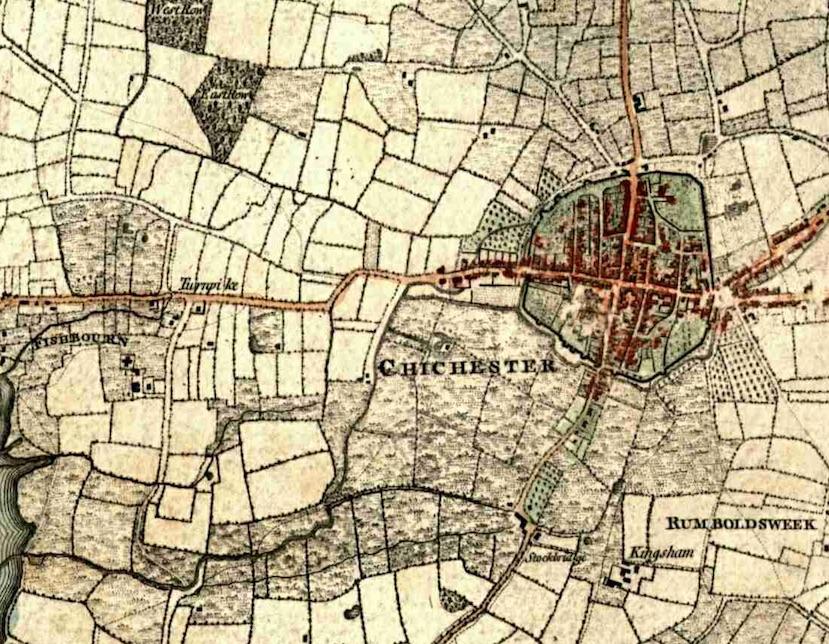 Westgate Yeakell & Gardner 1787, extract