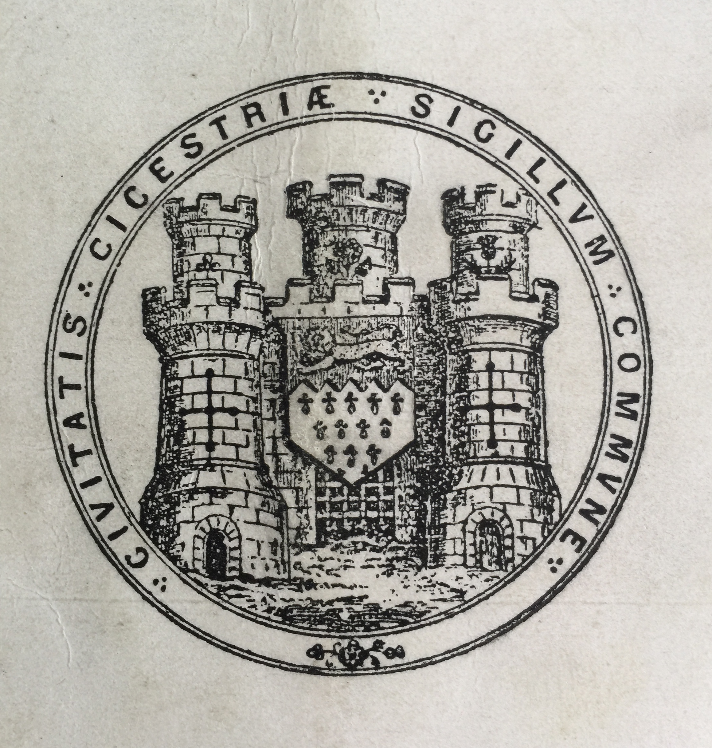 C19th seal of Chichester - Collection Ken Green