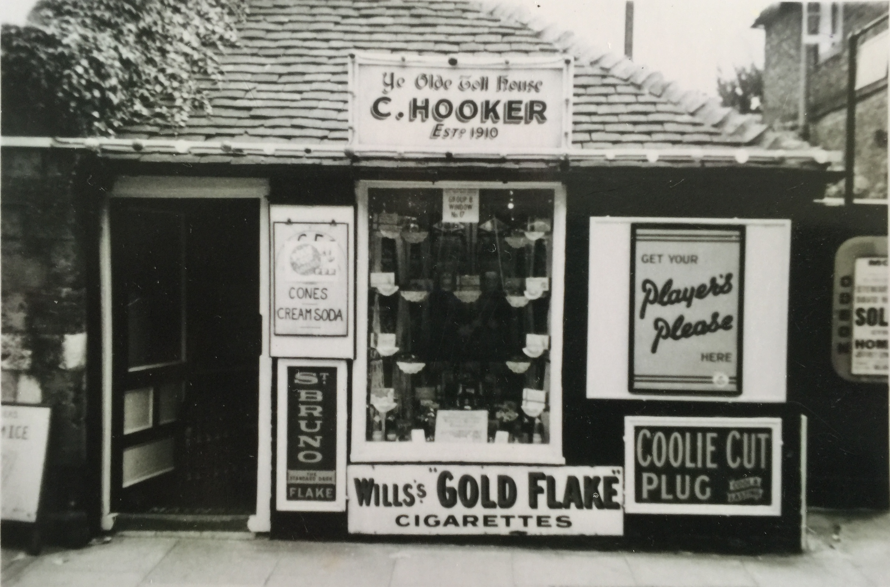 Hooker's Shop pre-60s - Collection Ken Green