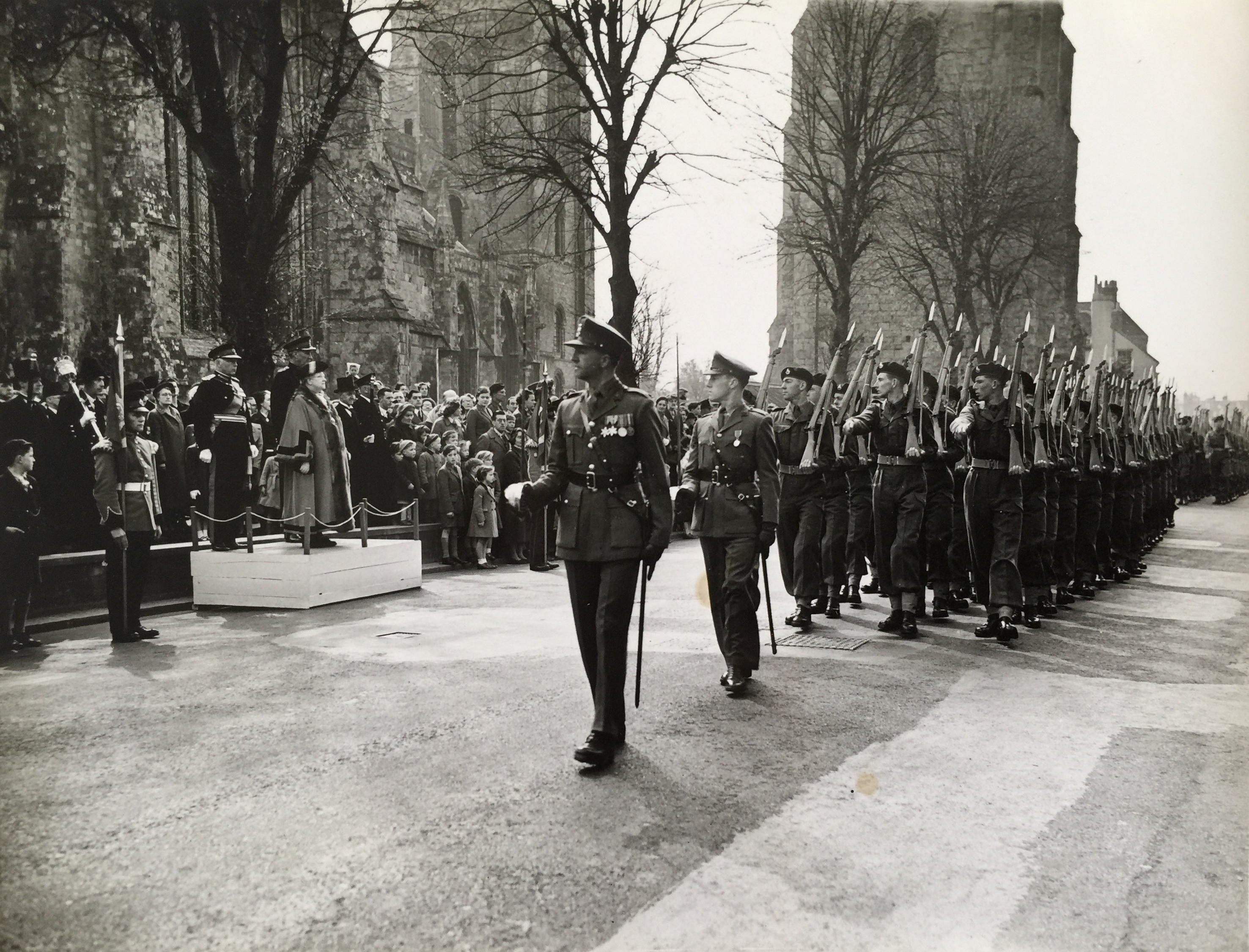 St George's Day Parade, early 50s - Collection Ken Green