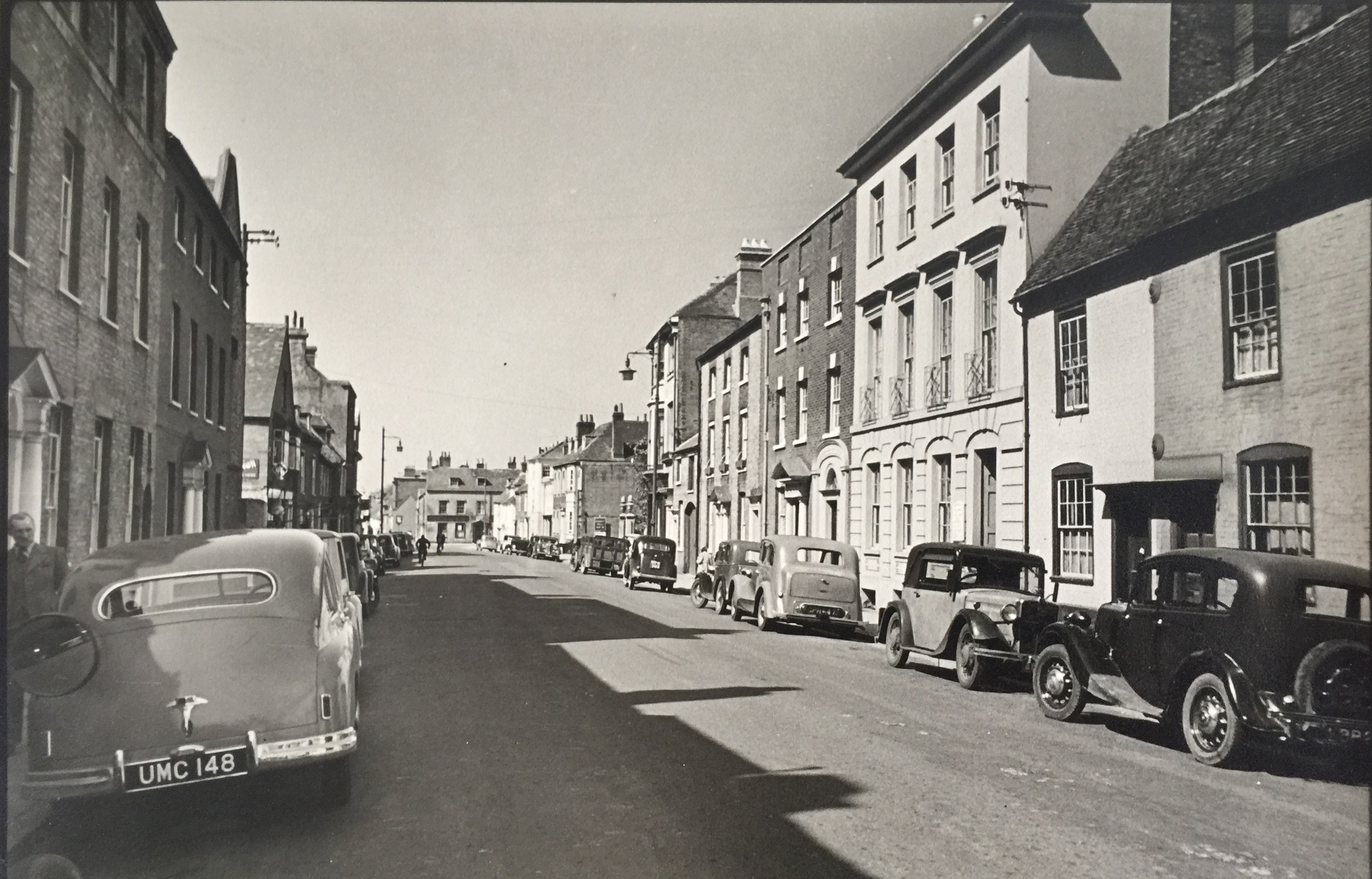 West Street looking West. Collection Ken Green