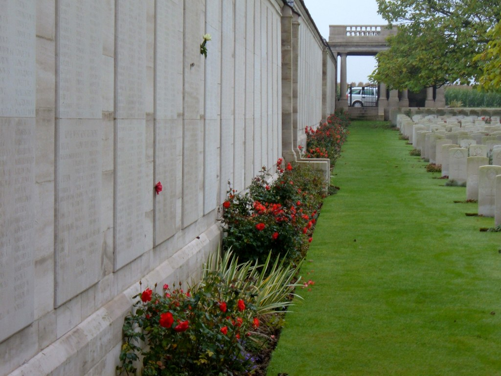 The panels of the Loos Memorial