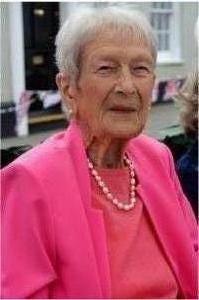 Jean Ogilvie the oldest resident (97)