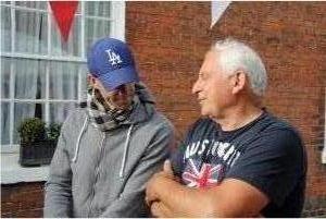 Joseph Fiennes with Keir MacNally